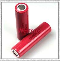 Wholesale 35amp High Drain mAh Battery LG HE2 A Battery high drain Rechargable batteries by DHL