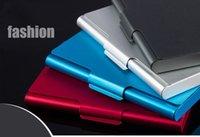 aluminum hoops - DHL free ALUMINUM CARD HOLDER METAL ALLOY POCKET BUSINESS ID CREDIT CASE DHL