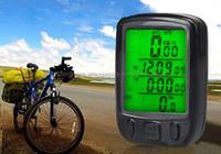 bicycle computer settings - Waterproof LCD Backlight Display Wired Bicycle Speedometer Computer Odometer Bike Stopwatch amp Sets