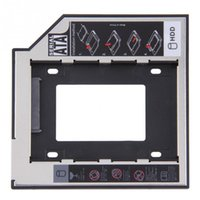 Wholesale 9 mm Universal SATA nd HDD SSD Hard Drive Caddy for CD DVD ROM Optical Bay YKS