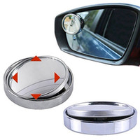 Wholesale Car Rearview Mirror Wide Angle Round Convex Car Blind Spot Mirror Adjustable