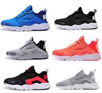 Wholesale Cheap Huaraches III Running Shoes Sport Men Women Lights Blue Zapatillas Deportivas Huaraches Run Low Running Trainer Sneakers