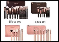 best makeup powders - Best price COMPLETE MAKEUP BRUSH Professional Set ZOVEA Tools Kit ZOEVA ROSE GOLDEN Powder Blending brushes