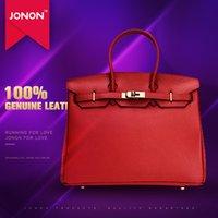 american padlocks - JONON Women Famous Designer Bag Messenger Bags Genuine Leather Handbags Padlock Scarf Lock Keys Famous Brand Bags Tote Bags