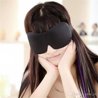 Wholesale 3D Cotton Eyeshade Sleeping Eye Mask Mascara De Dormir Cover Eyepatch Blindfolds For Health Care To Shield The Light