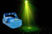 Wholesale Portable mW Mini LED Projector Laser Light Stage Lighting DJ Disco Party Bar Club with US UK EU AU Plug AC110 V
