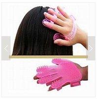 Wholesale Shampoo Brush Silica Gel Head Massage Brush Shampoo Body Massage Promote Circulation
