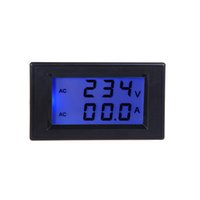 Wholesale Digital LCD Voltage Meter Voltmeter Mini Voltmeter Ammeter Current Transformer AC80 V Dual Display Electric Diagnostic tool