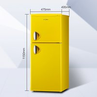 Wholesale small refrigerator two door refrigerator small household energy saving