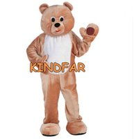 adult honey bear costume - Honey Bear Mascot Costume Adult Size Fancy Dress Cartoon Character Party Outfit Suit
