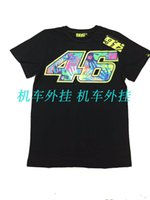 Wholesale Brand New Women Cotton MOTO GP Rossi VR46 T Shirt Vrfortysix Summer Motorcycle Casual Tees