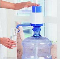 Wholesale cold water dispenser Bottled mineral water pressure water dispenser hand pressure drinking water hand pressure plastic water dispenser