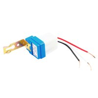 Wholesale High Quality pc Photocell Street Light Photoswitch Sensor AC DC V A Auto On Off Switch New