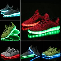 Chaussures fantômes Prix-Hot Melbourne Shuffle Dance Rio Olympique Unisexe 7 LED Light Lace Up Chaussures lumineuses Vêtements de sport Sneaker Casual Skateboard Ghost dancing