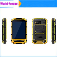 Alta calidad A8 IP68 impermeable del teléfono inteligente 3G MTK6572 Android 4.2 cuádruple núcleo de la célula resistente Gorilla Glass SIM 4.0 pulgadas IPS GPS WCDMA desbloqueado