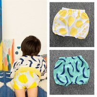 Wholesale New Arrivals Unisex Children s Kids Shorts Pants Bloomers Printing Cotton Blends Casual Summer KA523