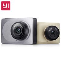 Wholesale 10pc DHL Original Xiaomi YI Smart Car DVR P fps Dash Camera inch Degree Angle ADAS G WiFi International Version