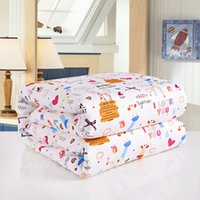 Wholesale Handmade Mulberry Silk Filling Quilt Children Size Comforter Cartoon Cover Brand New cm kg