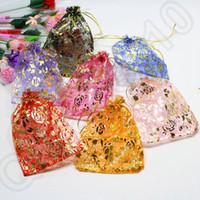 Cheap Rose Organza Bags Best Wedding Favors Bags