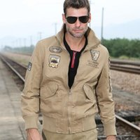 army field jacket xl - 2016 Bomber jacket soldier cotton field Army jacket men Special outdoor leisure brand clothing jacket tactical jacket mens