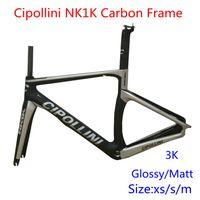 Wholesale Cipollini carbon bike frames k weave carbon materila bike framset black color road bike frames with BB68 BB30 converter carbon frames