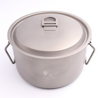 big cooking pots - BV ml Big Titanium Pot Cooking Pot Picnic Cookware g Ti1505B