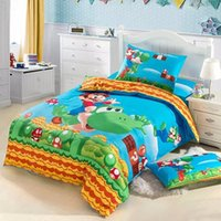 bedding duvet cover selling - HOT SELL Super Mario bedding set girls Bedding set cartoon paw patrol kids Twin size Single bed Duvet cover set cotton