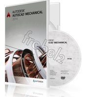 autocad mechanical software - Autodesk Autocad Mechanical English Language software bit and bit for win OS Plastic color box packaging