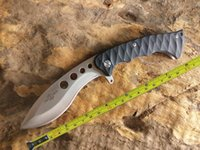 ball hole - Hong Kong Registered Post New TwoSun Survival Bowie G10 Handle Ball Bearings Fast Open Folding Knife TS23 Wave Hole