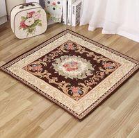 acrylic end tables - 90x90cm Factory european style floor rug living room end table mat non slip entrance carpet