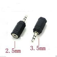 audio jack adaptors - Jack Socket Adapter mm Female to mm Male Plug Audio Converter Adaptor A6