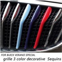Wholesale for bucik verano special grille color decorative Sequins for buick special auto grid molding Aluminum alloy Car Grills decoratve