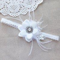 beaded wedding favors - 10pcs Wholesal Handmade Wedding Gartar Flower Bridal Garter Crystal Beaded Garters New Arrival Wedding Favors Bridal Accessories