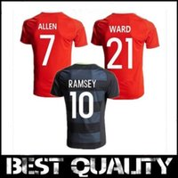 Wholesale Wales national team jersey football home jerseys Wales away football clothing Welsh red soccer shirt Best quality