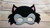 bad wedding dress - New Big Bad Wolf mask Cartoon felt masks for kids pretend play dress up party favor Hot sale Drop shipping