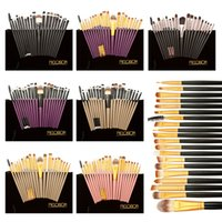 best blue eyeliner - Naked Makeup Brushes Kit Set Powder Foundation Eyeshadow Eyeliner Lip Eyebrow Brush Best Price