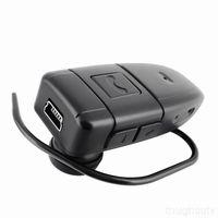 Cheap Built-in Memory Bluetooth Headset DVR Mini earphone Hidden Camera digital video Recorder USB Disk PC webcam
