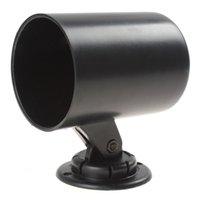Wholesale 52mm quot Auto Car Gauge Cup Holder Pod Black Universal Car Instrument Mount Car Hooks Holders Interior Accessories CEC_929