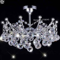 art hanging kit - empire Mini Crystal Chandelier Chrome Finish christmas lights Hanging kit Guaranteed100