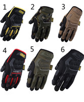 Wholesale MECHANIX WEAR Gloves MPACT Windproof Hiking Military Tactical Gloves Warm Ski Snowboard Motorcycle Cycling Long Full Finger Glove