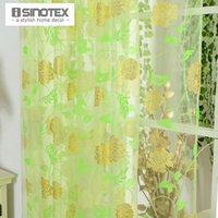 bedroom curtain patterns - Printed Pattern Voile Curtains for Living Room Bedroom Window Curtain Tulle Sheer Cortinas Sheer Rideaux