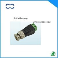 Wholesale Special Offer Good Quality Coaxial Coax CAT5 BNC Connector for CCTV Camera Security System