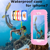 bag duty free - Waterproof Clear Heavy Duty Hybrid Swimming Dive Case For iPhone Plus Iphone S Plus Water Dirt Shock Proof Phone Bag Free Ship DHL pc