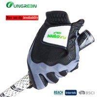 Wholesale Single Golf Gloves New Style Men Golf Sports Gloves left hand with Pu leather