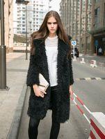 alpaca coats - Faux Fur Coat Powder Pink Alpaca Outwear Shaggy Fur Jacket Fake Fur Coat Blush Pink Coat Fluffy Burning Man Coat