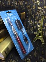 plastic model kits - New Model CE4 Ego Electronic Cigarettes USB Charged Battery E cigarette Kits CE Proved Mah Mah Mah Colors