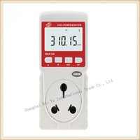 air analyzer - KW A Power meter High Power monitor Timing Power analyzer Digital Wattmeter Shipping By Post Registered Air Mail
