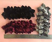 big pink velvet - new arrival handmade big velvet flower hairband flower