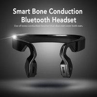 aid technology - New Technology Wireless Bone Conduction Headphones Bluetooth Headset Earphone Stereo Music Mic Hearing Aids Ear Release For Mobile Phone