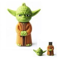 Wholesale 8GB Cartoon Yoda Model Usb Enough Memory Stick Flash pen Drive GB GB GB GB